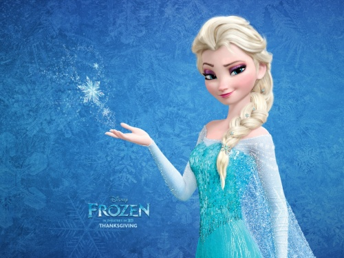 "Queen Elsa from Disney's ""Frozen"""