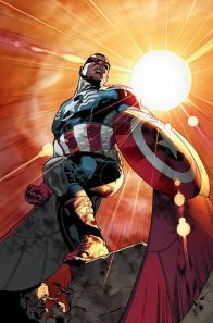 "Sam Wilson as ""Captain America"""