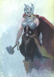jane foster as female thor hey mikey
