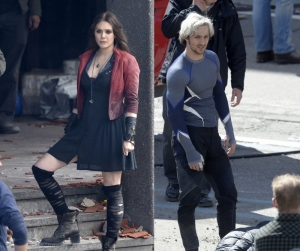The Scarlet Witch (l), Quicksilver (r)