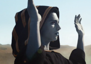 En Sabah Nur as he appeared at the end of the credits for X-Men: Days of Future Past