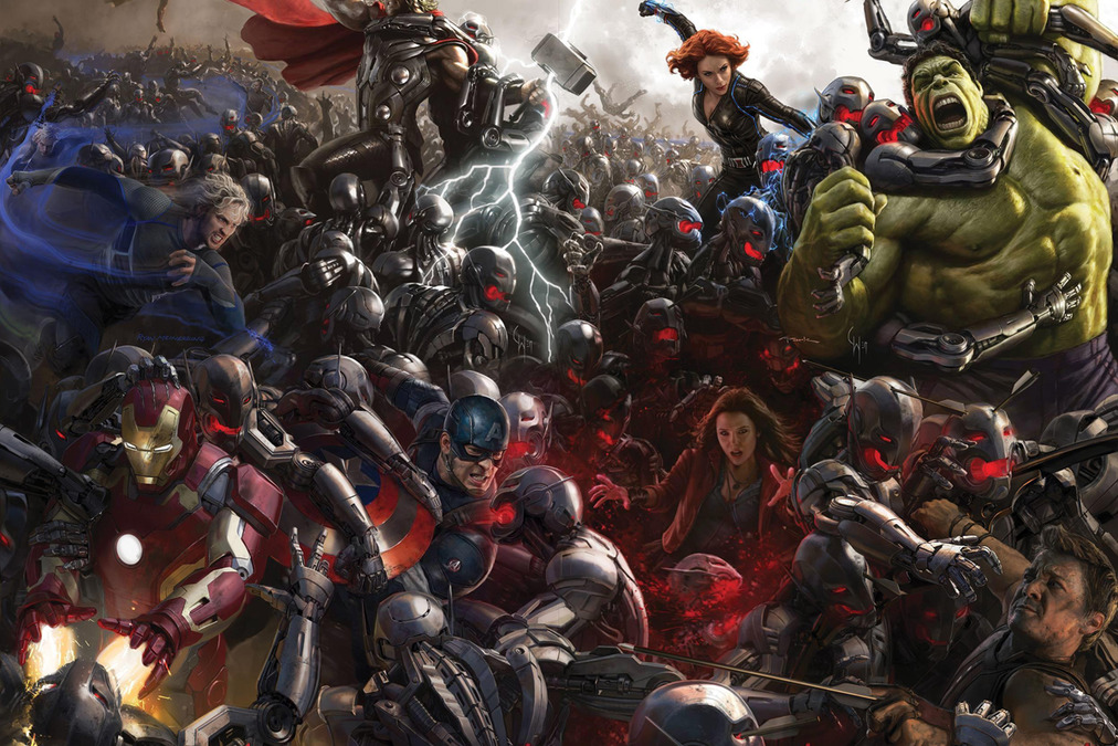 The Avengers Age of Ultron Hulkbuster Avengers Age of Ultron Hits