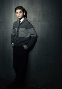 """David Mazouz as """"Bruce Wayne"""""""