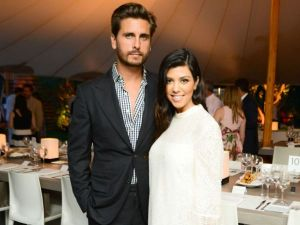 Scott Disick and Kourtney Kardashian
