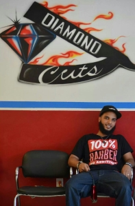 Youssef The Barber, creator of The curl Sponge