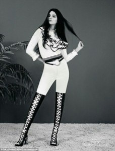 ", Kendall Jenner Goes Retro for ""DAZED Magazine"" Photo Spread!"