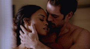 "Sharon Leal and William Levy in ""Addiction"""