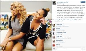 , Instagram At War! Chris Brown declares War on Tamar Braxton and Adrienne Bailon!