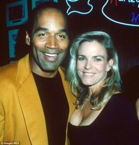 O. J. Simpson and Nicole Brown