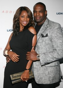 "Tasha Smith and her ""soon-to-be-ex-husband,"" Keith Douglas"