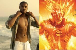 "Michael B. Jordan is the new ""Human Torch"""