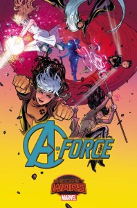 , Let's Here It For The Girls! Meet Marvel's Newest Team; A-Force!