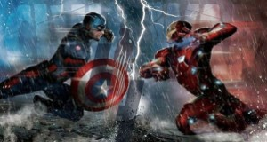 """, Captain America vs. Iron Man! Check out the Promotional Art for Captain America: Civil War!"""""""