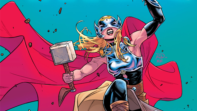, The Identity of The Female Thor! Surprisingly You already know her!