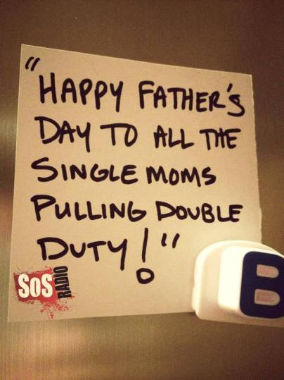 , #Inappropriate! Father's Day for Your Mother!