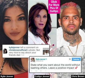 , Transphobic much? Chris Brown Comes for Caitlyn Jenner! See what Kylie Jenner had to say!