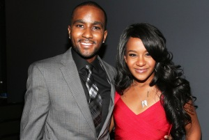 """LOS ANGELES, CA - OCTOBER 11:  Nick Gordon and Bobbi Kristina Brown attend """"We Will Always Love You: A GRAMMY Salute to Whitney Houston"""" at Nokia Theatre L.A. Live on October 11, 2012 in Los Angeles, California.  (Photo by Christopher Polk/WireImage)"""