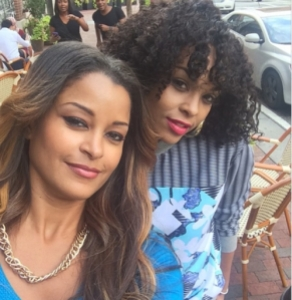 , SPOTTED! Former RHOA Stars, Claudia Jordan & Demetria McKinney in Talks for their own Reality Show?!