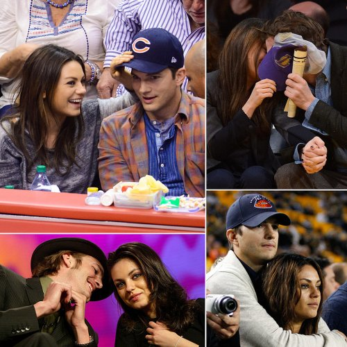 Cute-Ashton-Kutcher-Mila-Kunis-Pictures