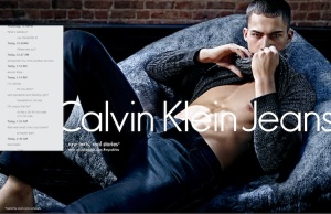, OUT! Calvin Klein features Same-Sex Couple in New Fall Ad!