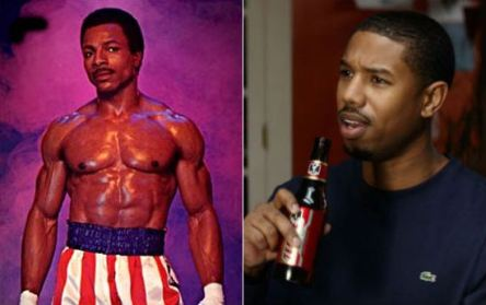 michael b. jordan and apollo creed