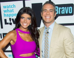 """, Teresa Giudice is """"Funny"""" in her E-Mails from Prison? Andy Cohen thinks so!"""