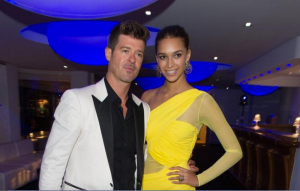 , Um…That Was Quick! Robin Thicke is Reportedly Engaged to April Love Geary…