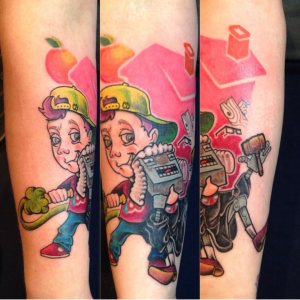 """, Ink My Whole Body: Master of """"The One Time Line!"""" Check Out My Boy, Chris Davis!"""