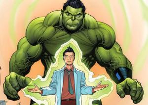 """, From """"Incredible"""" to """"Totally Awesome!"""" Marvel Comics introduces a New Hulk!"""