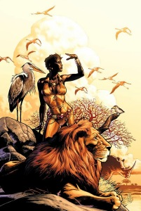 , TV News! DC Comics Planning Vixen Series!