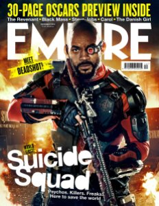 , The Joker, Harley Quinn, & Deadshot! Suicide Squad Member Kill The Covers of Empire Magazine!