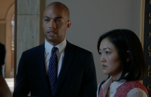 Caleb and Catherine How to get away with murder hey mikey atl