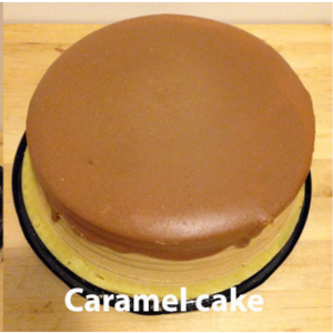 Patti LaBelle's Good Life Three-Layered, Caramel Cake