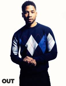 jussie smollett out magazine hey mikey atl