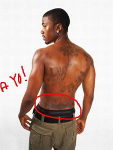 ray j tramp stamp hey mikey atl
