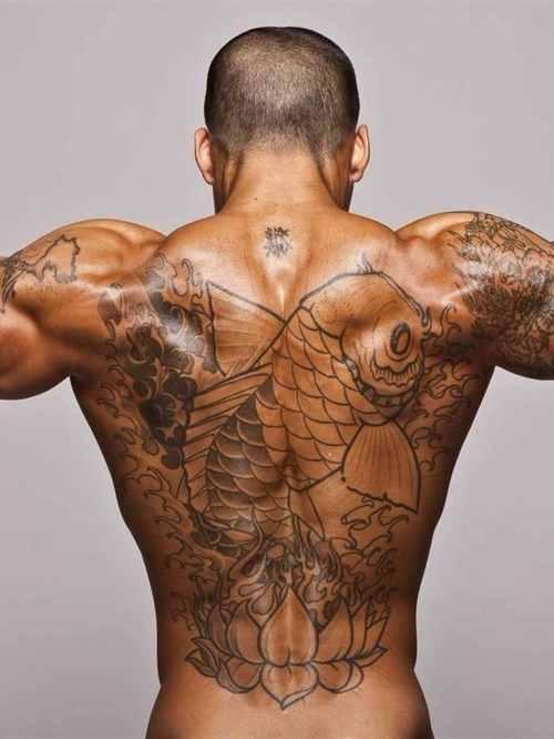 back tattoos hey mikey atl