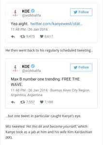 wiz khalifa kanye west twitter beef hey mikey atl
