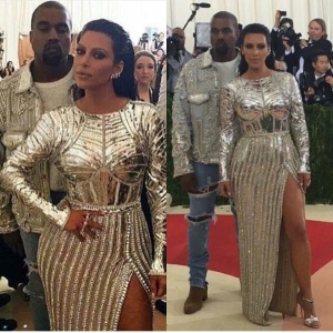 , Ol' Blue Eyes-Is Kanye West's New Look Going to Become A Trend?