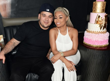 rob kardashian and black chyna