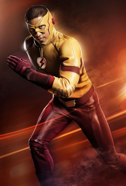 keiynan lonsdale in kid flash costume