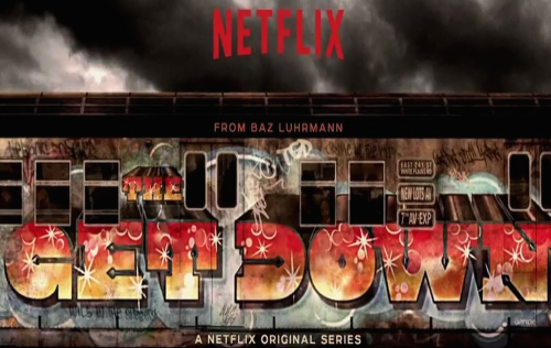 the get down logo netflix