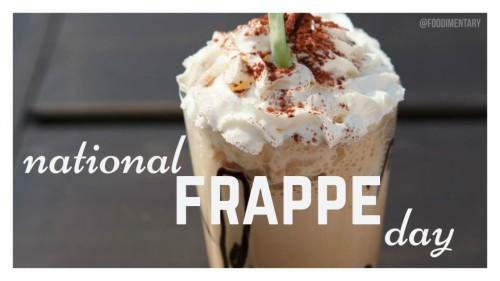 national frappe day hey mikey atl