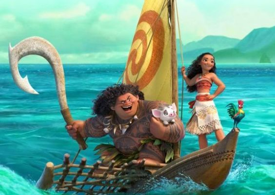 """, [VIDEO] A Girl Saves The World! Disney's """"Moana"""" is AMAZING!"""