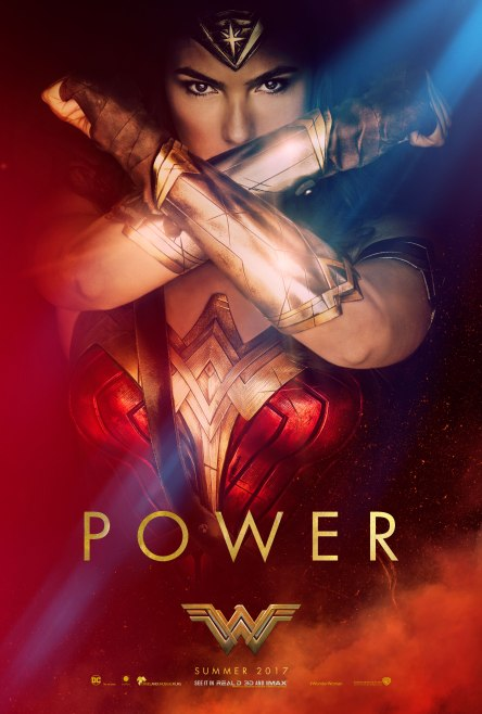 wonder woman power movie poster