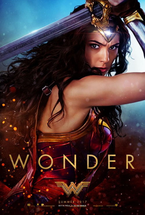 wonder woman wonder movie poster
