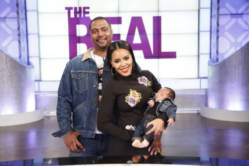 angela simmons, sutton joseph, and sutton tennyson on the real talk show