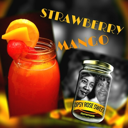 strawberry mango topsy rose sweets lemonade