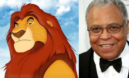 james earl jones and mufasa