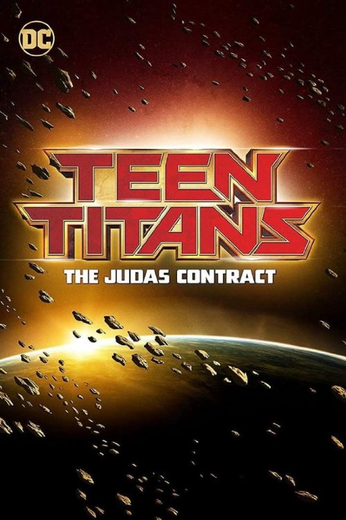 teen titans judas contract movie poster