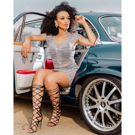 ", The Crowing Jewel of ""Quantico!"" We Love Pearl Thusi!"
